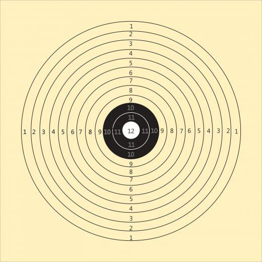 LG Scheibe mit 12 Ringen