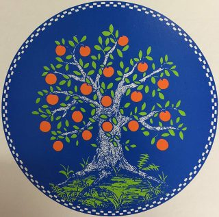 Apfelbaumscheibe